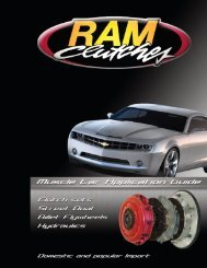 Ram Muscle Car Catalog - Standard Transmission and Gear