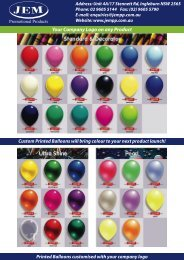 Download PDF - JEM Promotional Products