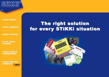 STiKKi NOTES - JEM Promotional Products