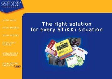 STiKKi NOTES - JEM Promotional Products