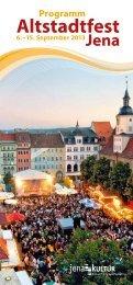 Altstadtfest Jena - jenakultur.de