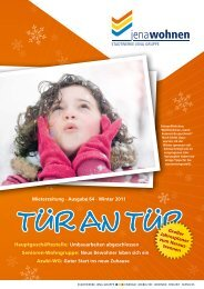 Mieterzeitung · Ausgabe 64 · Winter 2011 ... - jenawohnen