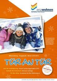 Mieterzeitung · Ausgabe 68 · Winter 2012/2013 Zeit ... - jenawohnen