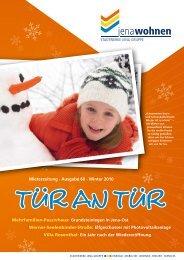 Mieterzeitung · Ausgabe 60 · Winter 2010 ... - jenawohnen