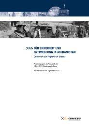für sicherheit und entwicklung in afghanistan - Jens Koeppen MdB