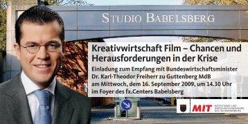 Kreativwirtschaft Film – Chancen und Herausforderungen in der Krise