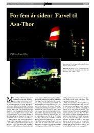 For fem år siden: Farvel til Asa-Thor - Dansk Jernbane-Klub