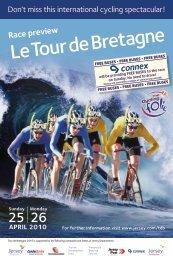 Tour de Bretagne Race Preview - Jersey