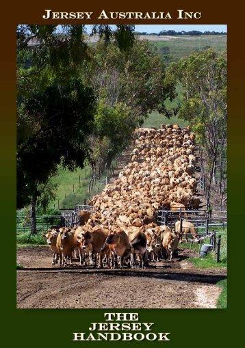 MEMBERS HANDBOOK - Australian Jersey Breeders Society