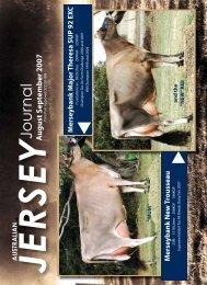 Aug/Sept 2007 - Australian Jersey Breeders Society