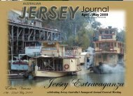 April/May 2009 - Australian Jersey Breeders Society
