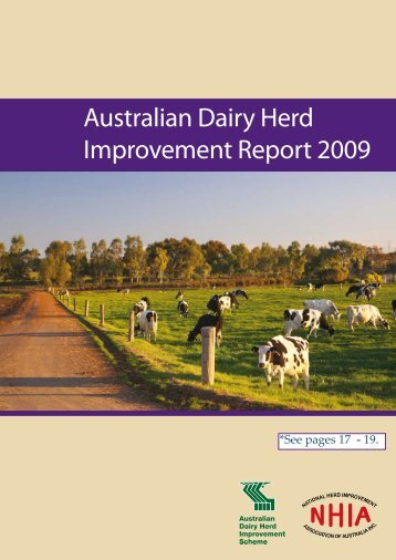 NHIA 2008/09 National Herd Recording Statistics - Australian Jersey ...