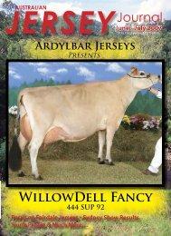 WillowDell Fancy Journal - Australian Jersey Breeders Society