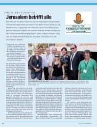 Publireportage May 2009 mit FG.pdf - Jerusalem Foundation