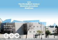 Science Museum By the Numbers - Jerusalem Foundation