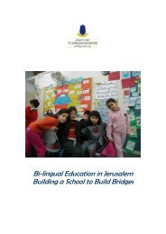 In 1997, Hand in Hand Center for Jewish-Arab Education was ...
