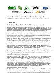 Wir fordern ein Ende der Brechmittel-Folter in ... - JES NRW