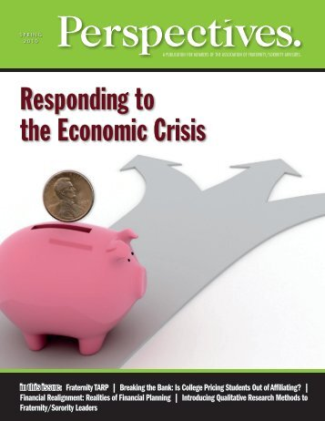 Responding to the Economic Crisis - Jessica Pettitt