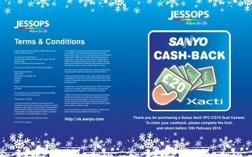 Terms & Conditions - Jessops