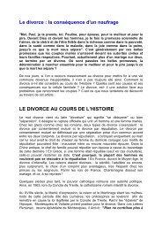 le divorce la consequence d'un naufrage.pdf - Jésus est vivant