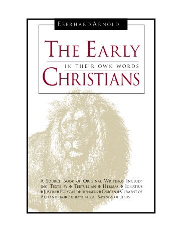 PDF - The Early Christians - Jesus Army