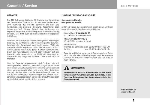 CS FMP 420
