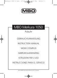 Merkura 1050 D neu - JET GmbH
