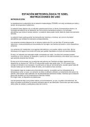 estación meteorológica te 529el instrucciones de uso - JET GmbH