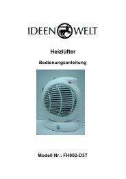 Heizlüfter FH902-D3T - JET GmbH