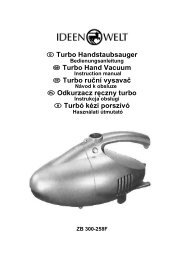 Handstaubsauger Turbo ZB 300-258F - JET GmbH