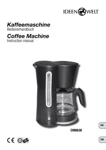 Coffee Machine Kaffeemaschine - JET GmbH