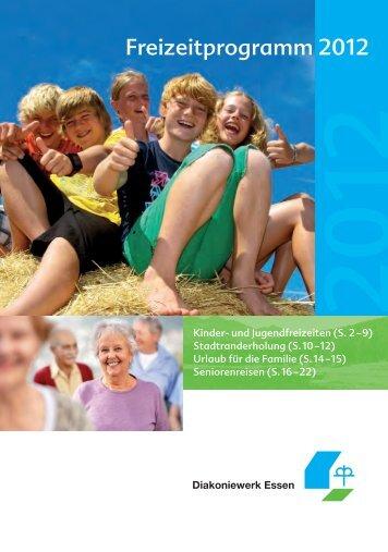 Das Freizeitprogramm 2012 zum Download (6 8 MB