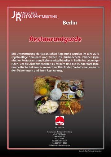 Restaurants - JETRO