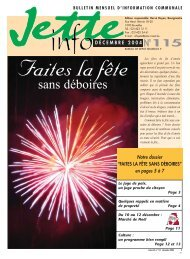 Jette Info 115 FR - 12/2004