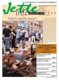 Jette Info 111 FR - 6/2004