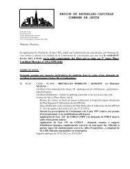 Commission de concertation - Jette
