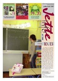 juillet/août 2007 - Jette