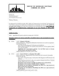 REGION DE BRUXELLES-CAPITALE COMMUNE DE JETTE