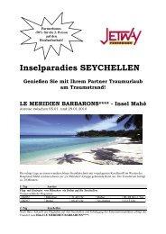 Inselparadies SEYCHELLEN - bei Jetway Reisen!