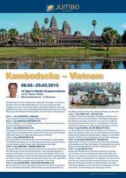 Kambodscha – Vietnam - bei Jetway Reisen!