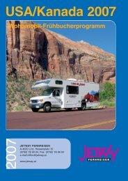 USA/Kanada 2007 - bei Jetway Reisen!