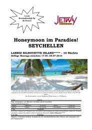Honeymoon im Paradies! SEYCHELLEN - bei Jetway Reisen!