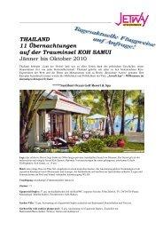 THAILAND 11 Übernachtungen auf der Trauminsel KOH SAMUI ...