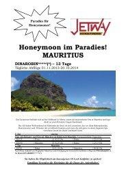 Honeymoon im Paradies! MAURITIUS - bei Jetway Reisen!