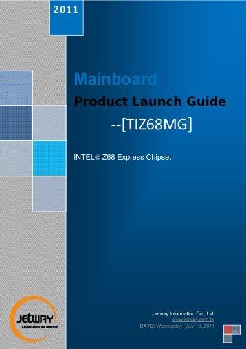 Mainboard --[TIZ68MG] - Jetway Computer