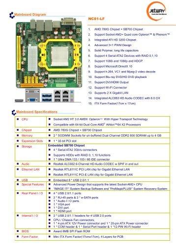 Jetway Computer Atom-GM1 Driver Download