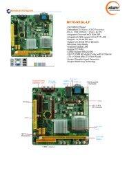 Jetway NF76-N1GL-LF Unichrome9 VGA Drivers Windows 7