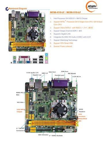 Jetway Computer NC81 WiFi Windows Vista 64-BIT