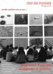 Programme_2010-2011 - Jeu de Paume