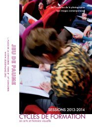 CyclesFormation2013-2014 - Jeu de Paume